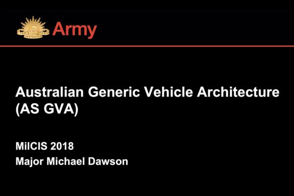 Generic Vehicle Architecture SOE