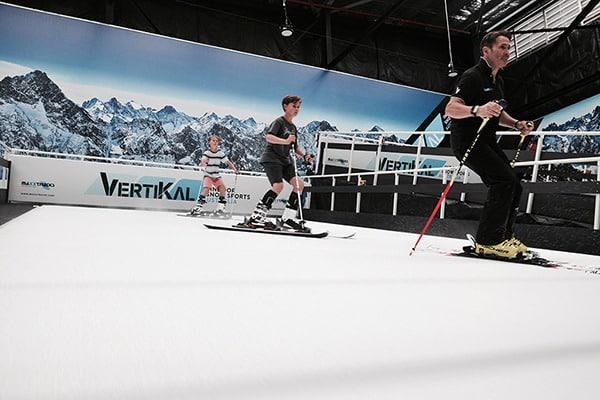 Indoor Skiing at Vertikal